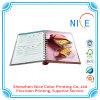 Libro de ejercicio duro de la cubierta de la impresión de la cubierta