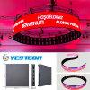 P3.9mm rund/Zylinder/gebogener LED-Schaukasten für das Bekanntmachen