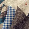 La impresión de cepillado hilado teñido de la Cachemira como tejido chaqueta