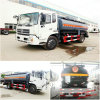 Dongfeng 10000-15000 Liters Flammable Liquid Tank Trucks Chemical Tanker Truck