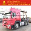 testa 6X4 del trattore della baracca del camion Hw79 di 380HP 420HP HOWO