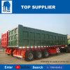 대륙간 탄도탄 차량 3 차축 판매를 위한 유압 덤프 트레일러