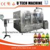 Машина завалки напитка бутылки фруктового сока автоматическая