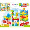 Os blocos de apartamentos plásticos de DIY caçoam o brinquedo educacional dos blocos (H9792024)