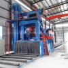 Q69 La placa de acero estructura Transportador de rodillos ruedas Granallado máquina