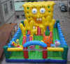 Beau et Funny Inflatable Castle pour Indoor ou Outdoor Use (A241)