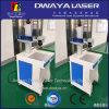 mini prix portatif de machine d'inscription de laser de la fibre 30W