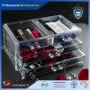 Feuille d'acrylique d'espace libre d'organisateur de bijou de produits de beauté de renivellement