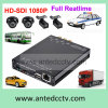 CCTV передвижное DVR канала HD 1080P 4 для таксомоторов тележек автомобилей кораблей