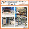 Pálete Runner Radio Shuttle Racks para Warehouse Storage com High Utilizaiton
