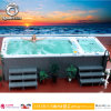 De hydro Pool OpenluchtWhirlpool Outdoor Swim SPA van de Massage