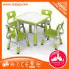 مزح بلاستيك قوّيّة مربّعة طاولة وكرسي تثبيت لأنّ روضة الأطفال