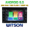 Carro DVD do Android 6.0 do núcleo de Witson oito para Volkswagen Golf/B5