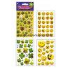 Novo design! Lovely Kids Customized 3D PVC Puffy Stickers