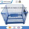 倉庫のための鋼鉄頑丈なスタック可能およびFoldable金網の容器