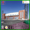 Taller modular y edificio del marco de acero del bajo costo