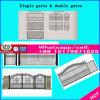Portão de ferro forjado de luxo /Ferro Portões forjado vedações/ Sistemas de Acesso