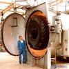 autoclave de recauchutagem do Vulcanization do pneumático do aquecimento indireto do vapor de 3000X8000mm