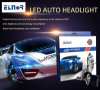 Luzes automotrizes brilhantes do diodo emissor de luz do jogo H1 de Convesion do carro dos bulbos populares do farol do diodo emissor de luz