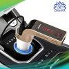 Transmisor FM inalámbrico Bluetooth manos libres + Cargador de coche + unidades Flash USB /TF Music Player + USB Car Charger Kit para coche