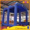 사건 (AQ5210)를 위해 천막을 광고하는 옥외 파란 팽창식 천막