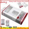 Elektronische Produkte und kosmetische Aufhängungs-Plastikverpackungs-Kasten mit Blasen-Tellersegment-Einlage
