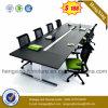 금속 다리 사무실 테이블 나무로 되는 회의 회의 책상