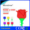 Azionamento di gomma su ordinazione all'ingrosso dell'istantaneo di figura USB2.0 del fiore della Rosa
