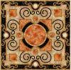 Tegel 1200X1200mm van de Vloer van het Kristal van het Tapijt van het Patroon van de bloem Tegel Opgepoetste Ceramische (BMP41)