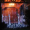 luz da corda da cortina do casamento do Natal do diodo emissor de luz 110V de 3X3m para a decoração do partido da árvore do jardim do feriado