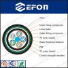 Câble optique lâche de fibre de gaine de double de tube/câble de réseau