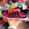 Новый сплетенный студент прибытия резвится тапка обуви ботинка
