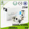 Linterna auto de la luz 25W H4 LED del coche del LED con el ventilador