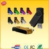 Métal de lecteur flash d'émerillon, clé de mémoire USB de torsion d'OEM