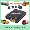 Sistema de grabación video del coche/del autobús escolar del transporte con la cámara y DVR móvil 1080P WiFi GPS 3G 4G
