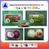 Bandeja de vegetales de la máquina de embalaje retráctil automática