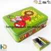 Tin rectangulaire Box avec Colorful Printing comme Promotion Gift