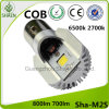 LEDのオートバイのヘッドライト6500k白いM2s Ba20d