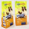 옆 삼각천을%s 가진 개 또는 동물성 음식 비닐 봉투