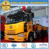 FAW 6*4 die de Vrachtwagen van de Kraan van het Wapen Opgezet met 6 Ton van de Prijs van de Kraan vouwen