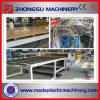 Linea di produzione ad alto rendimento della cassaforma della costruzione del PVC WPC