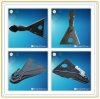 Het a-kader van de Aanhangwagen Koppelingen uit gegoten staal, Gelaste a-kader Koppelingen voor Aanhangwagen