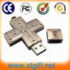 De dwars Goedkope Stok USB van de Hoge snelheid (n-019)