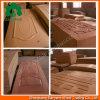 Los paneles 2015 de piel de madera decorativos al por mayor de la puerta del MDF de la chapa de China