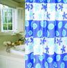 Cortina de ducha PEVA, cortina de ducha de nylon, nylon Baño Cortina, Cortina de baño de nylon