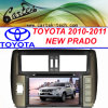 2010/2011人の新しいPardo車のDVDプレイヤー(CT2D-ST7)