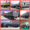 Transport Chemical Liquid Trailer 3 Axle Hazardous Liquid Storage Tanker Semi Trailer 50cbm Chemical Liquid Trailer 50m3 für Sale