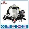 Maleta de plástico de 6,8 aparatos de aire respirable independiente