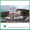 Le scale del camion per transito mescolano i camion del cemento o del calcestruzzo