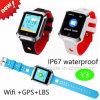 Het waterdichte GPS van Jonge geitjes Slimme Horloge van de Drijver met Volgen het In real time Y3
